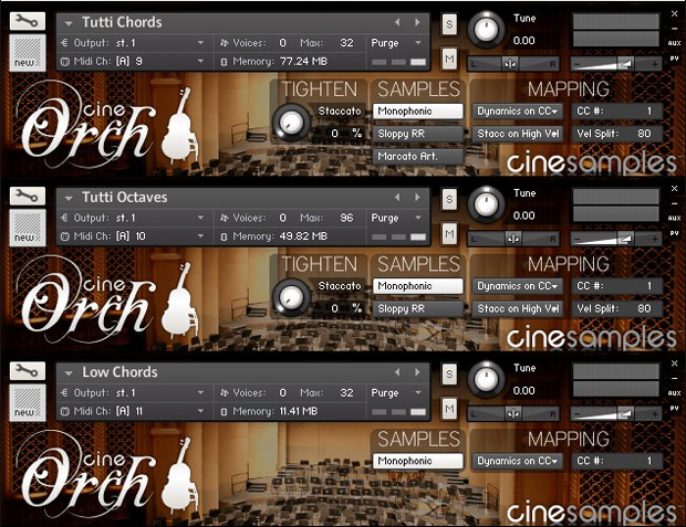 CineOrch Screen