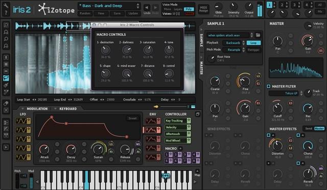 Macro Control Screen