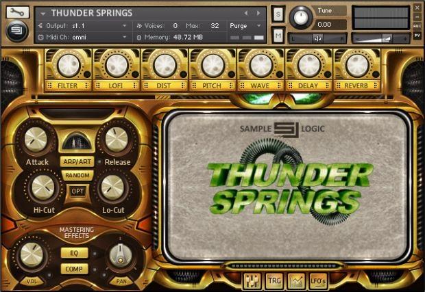 Thunder Springs Screen 1