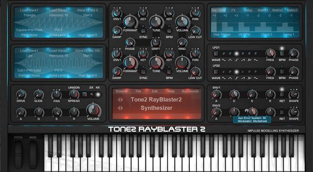 Rayblaster 2 GUI