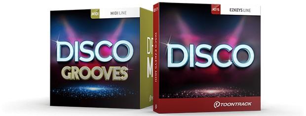 EZkeys Disco boxshots