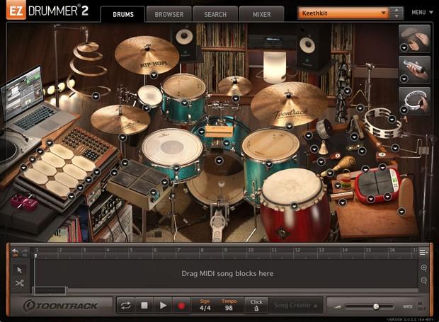 EZX HipHop Screen