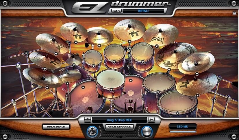 Toontrack Rock! screenshot