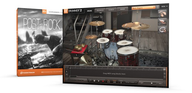 POst Rock Screen and Box