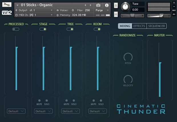 Cinematic Thunder Main GUI