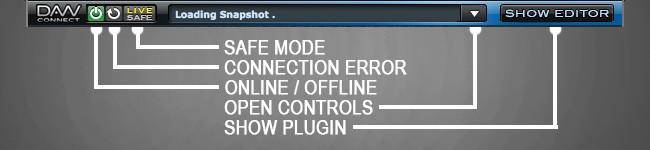DAWconnect Display