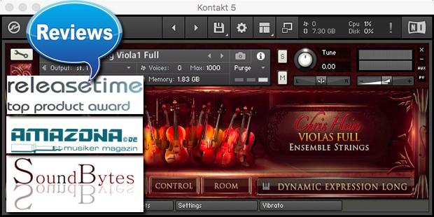 reviews for CH Ensemble Strings