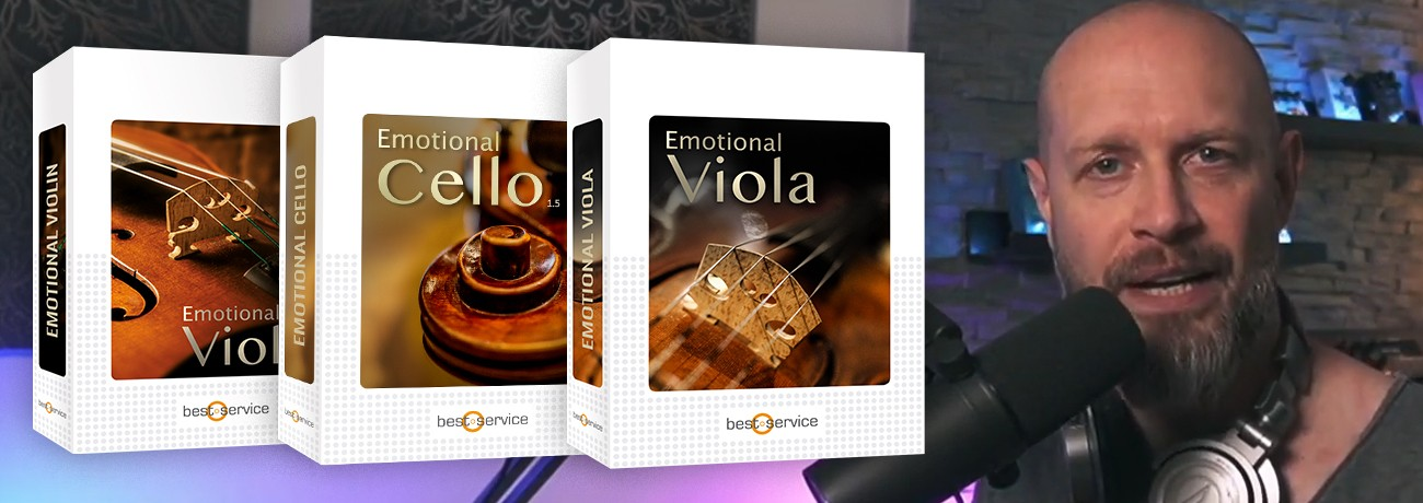 Emotional Viola, Violin & Cello Live Stream mit Alex Pfeffer