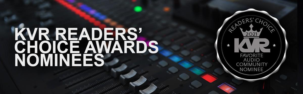 KVR Readers Choice Awards Banner