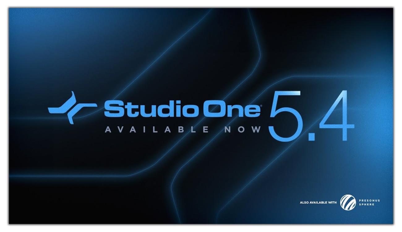Studio One 5.4 Video Banner