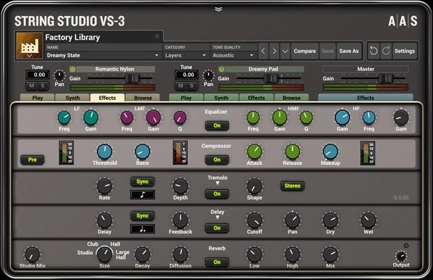 String Studio FX GUI
