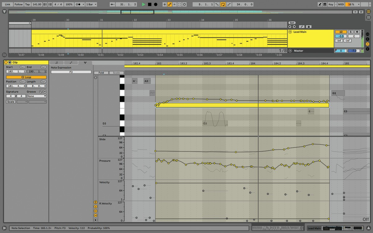 MIDI Polyphonic Expression