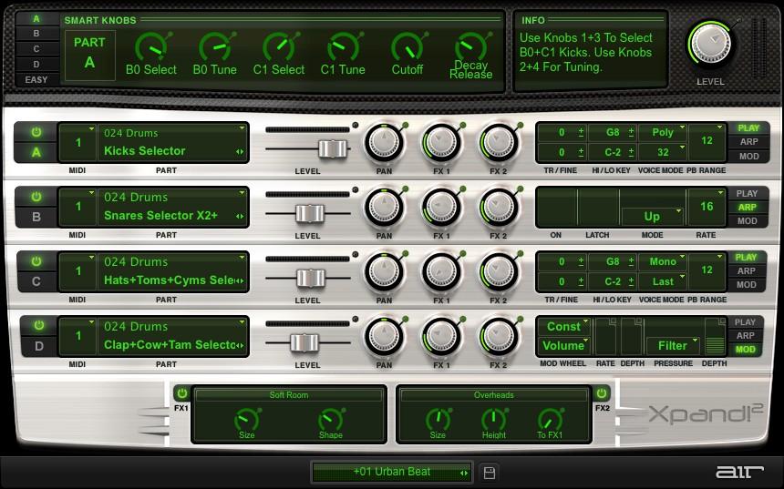 Xpand2 GUI