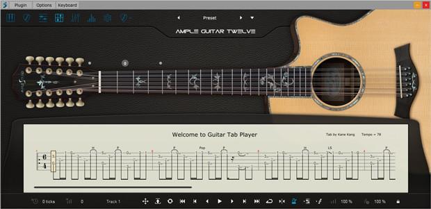 AG12 III TabPlayer GUI