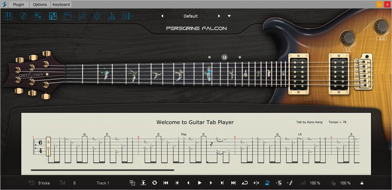 Ample Guitar P III Tab Reader
