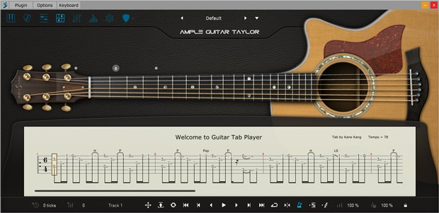 AGT III Tab Player GUI