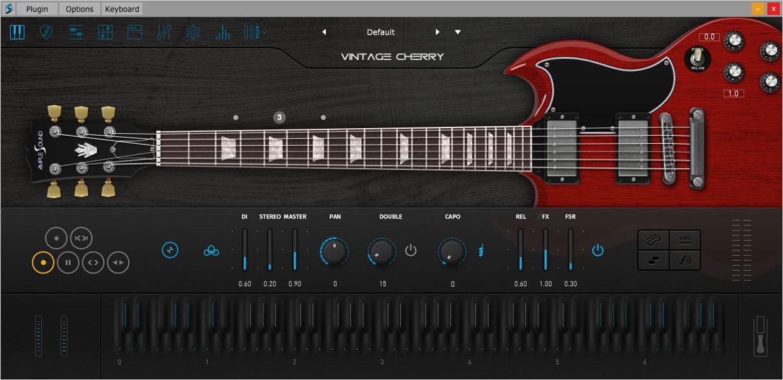 Ample Guitar VC Main GUI