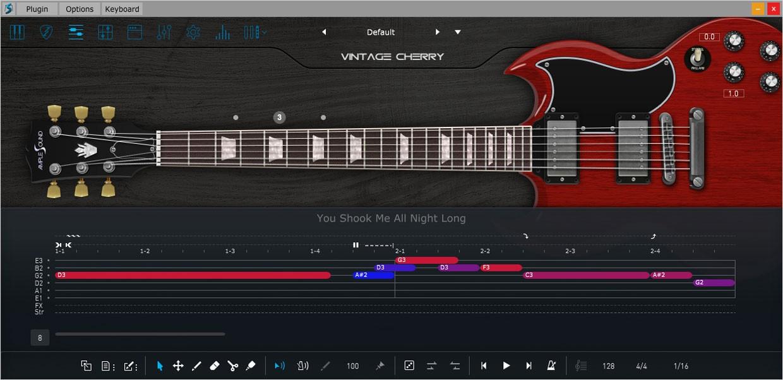 Ample Guitar VC Riffer GUI