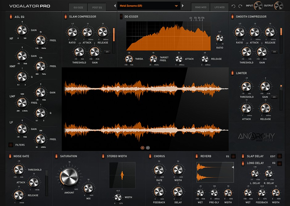 Vocalator GUI