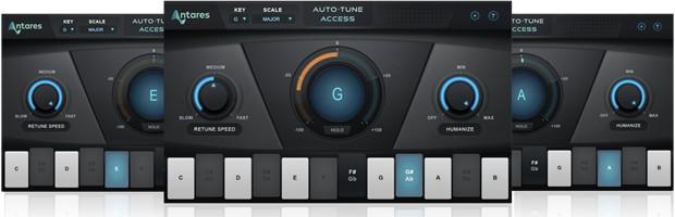 Auto-Tune Access Triple Panel