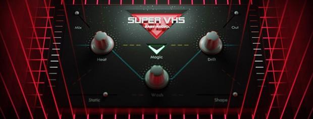 Super VHS GUI Art