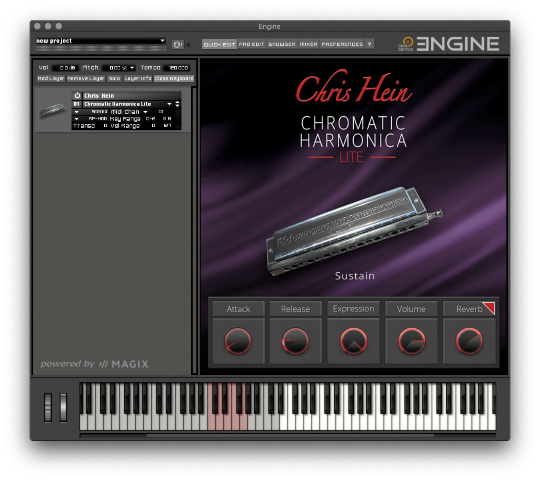Chris Hein Chromatic Harmonic Lite