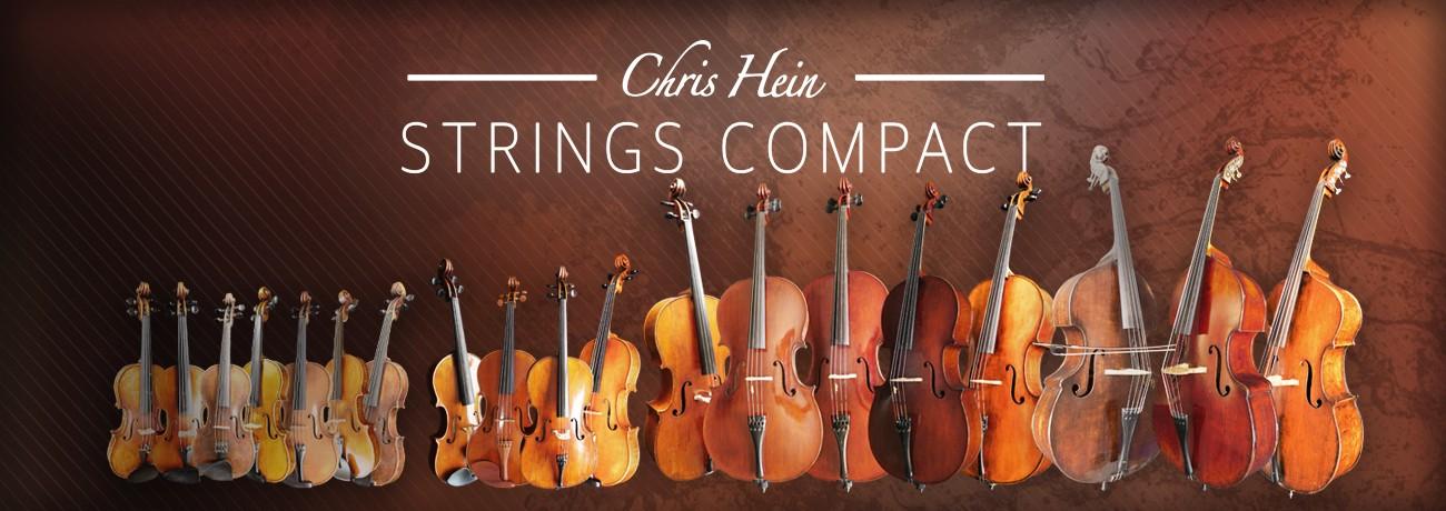 Chris Hein Compact Strings Banner