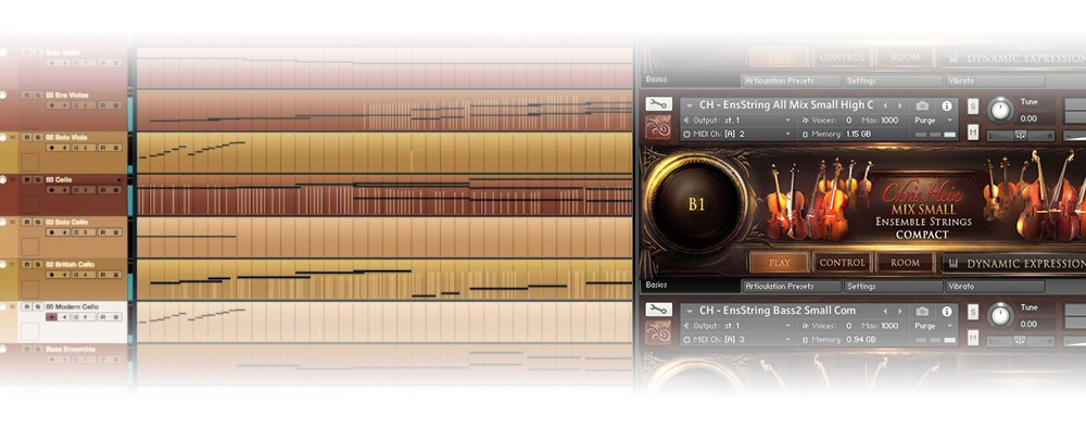 Chris Hein - Strings Compact Cubase Session