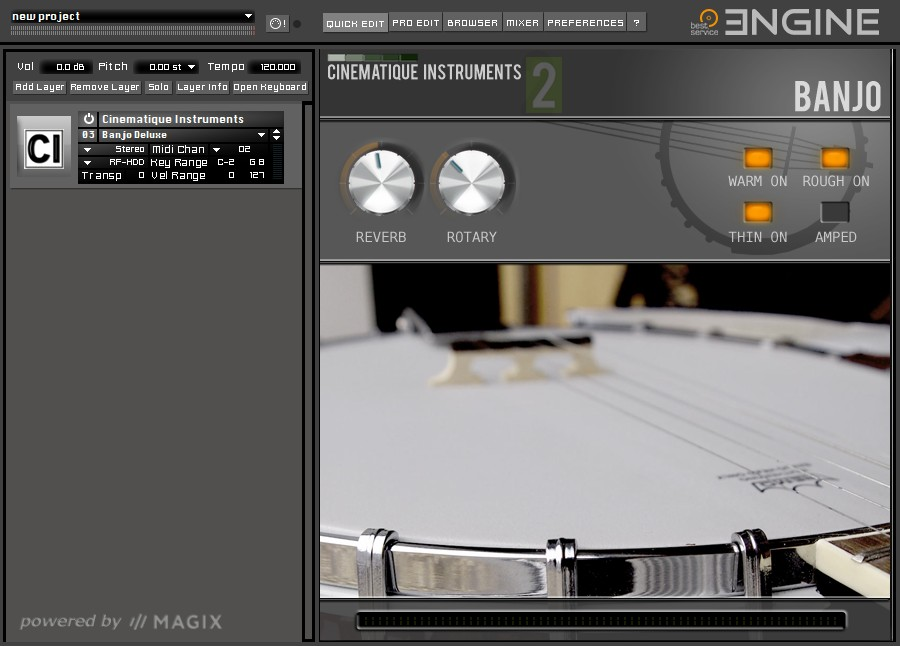 Cinematique Instruments 2 GUI