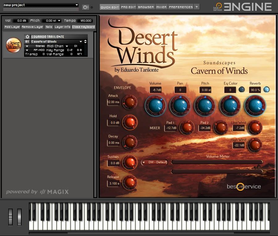 Desert Winds Soundscapes
