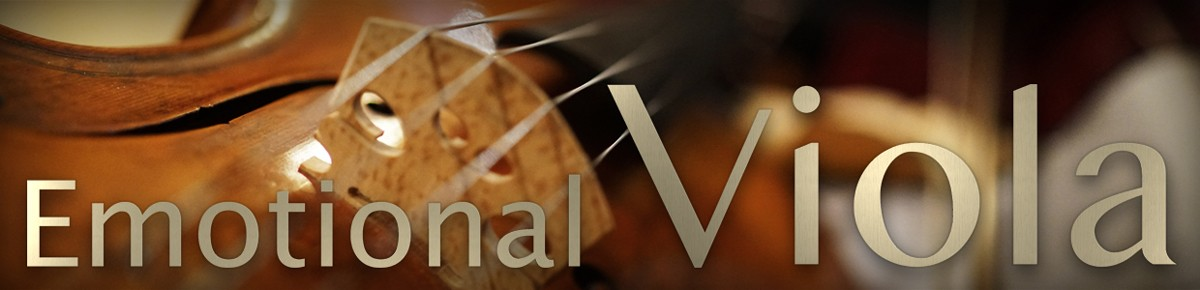 Emotional Viola Header