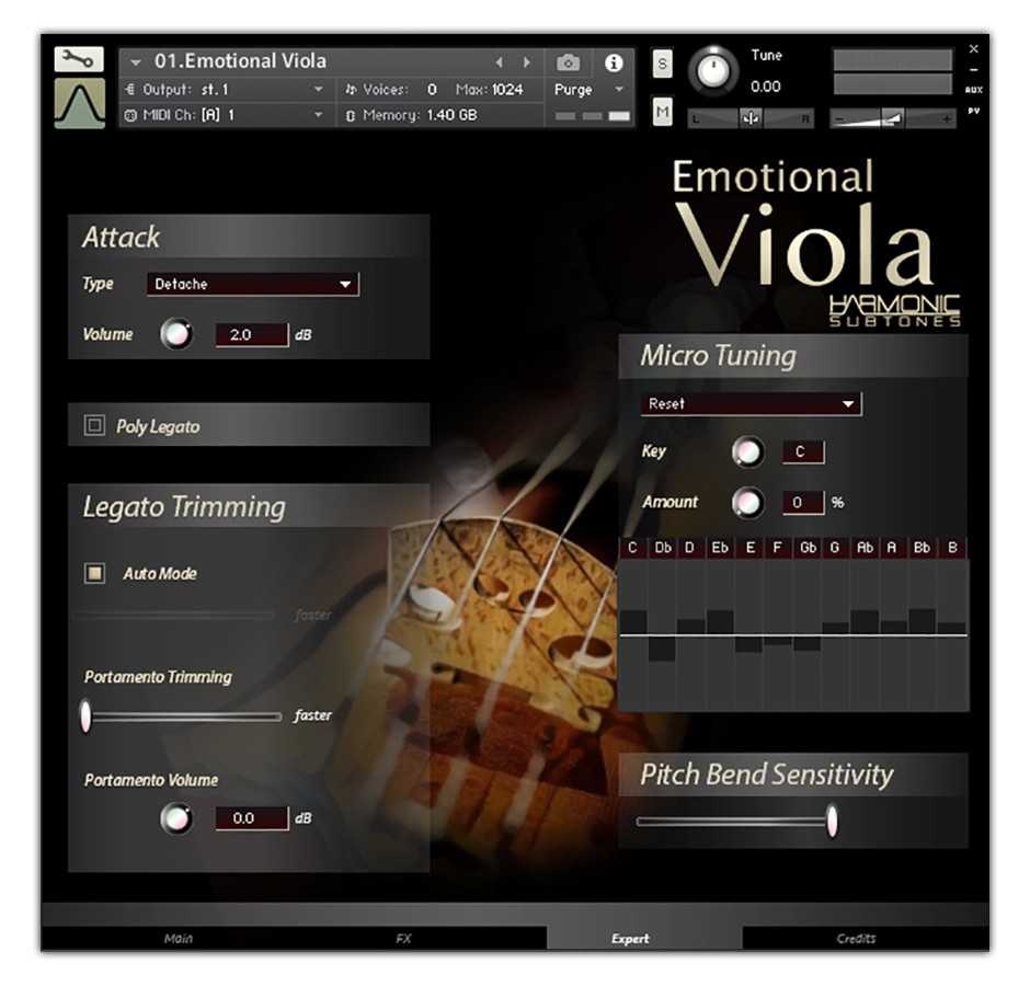 Viola Expert GUI