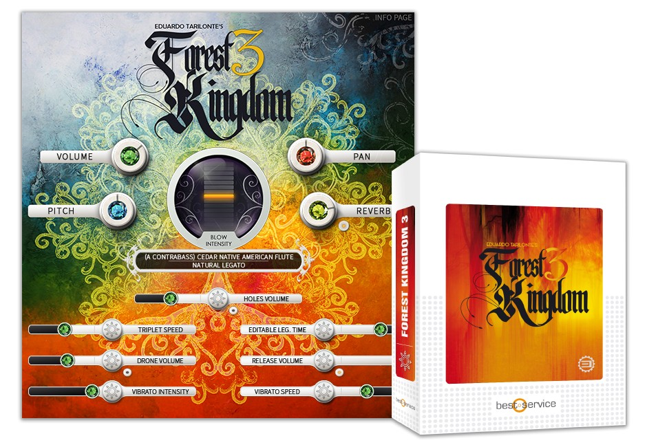 Forest Kingdom 3 Box and Screen
