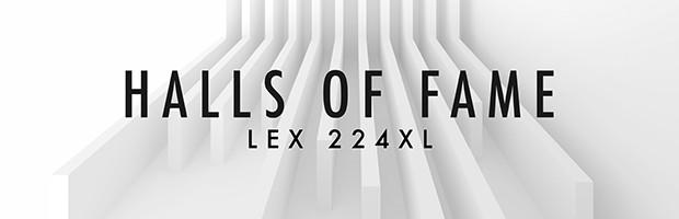 Halls of Fame LEX 224 XL Header