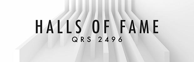 Halls Of Fame QRS 2496 Header