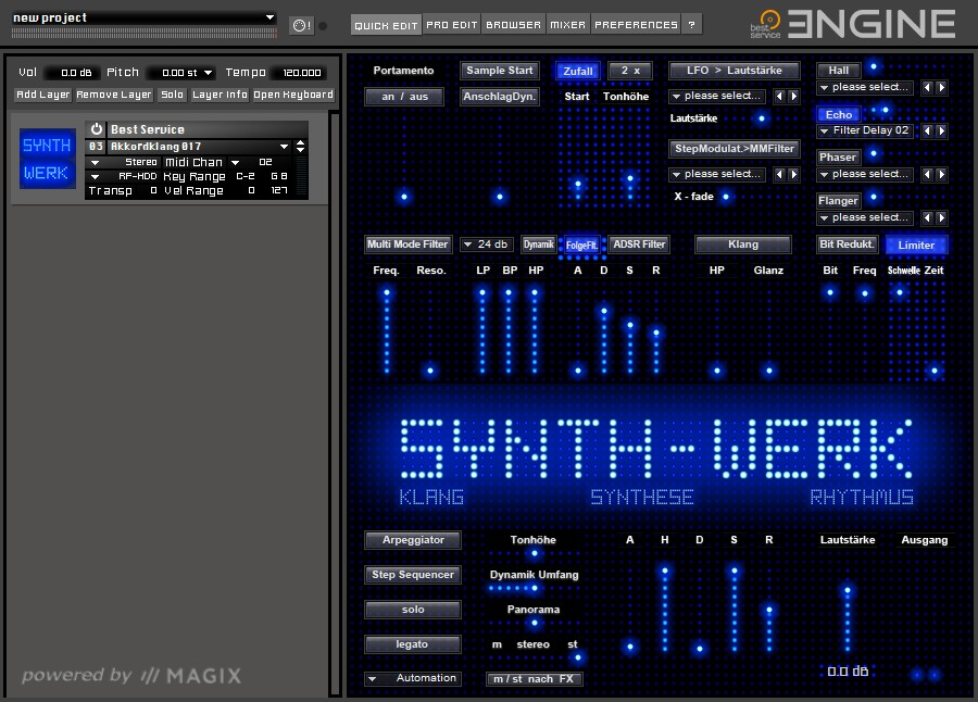 SYNTH-WERK GUI