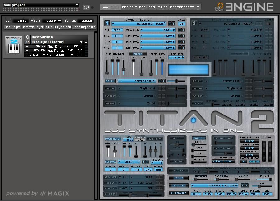 TITAN 2 GUI