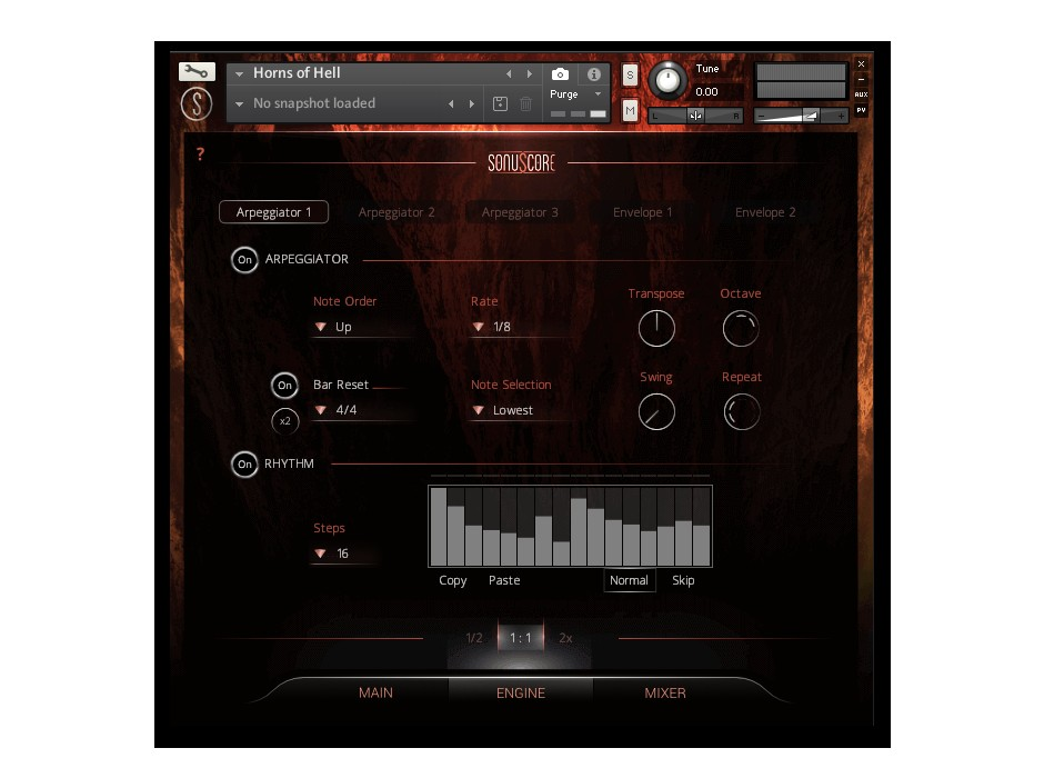 Horns Of Hell GUI Engine