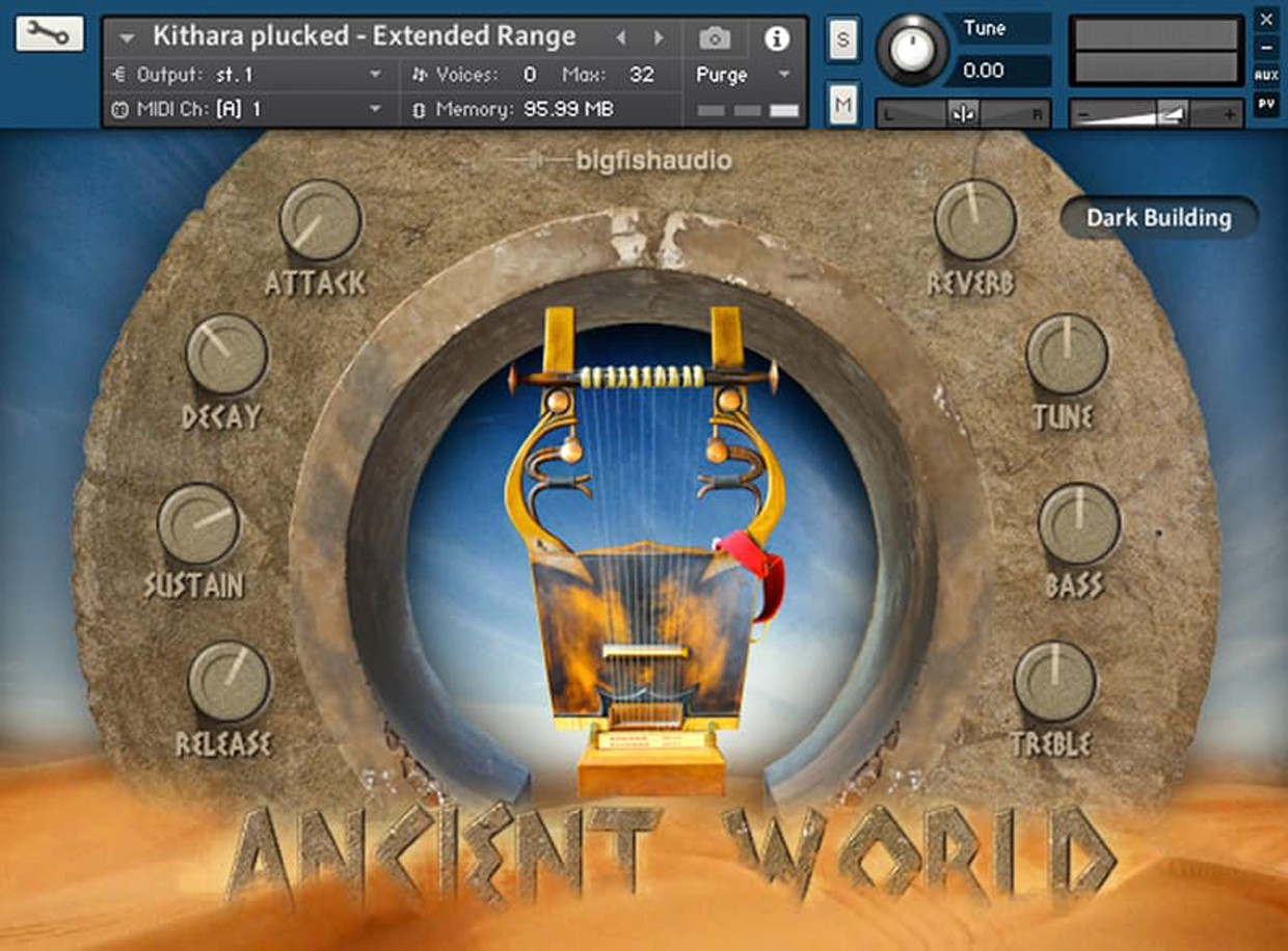 Ancient World GUI Screen