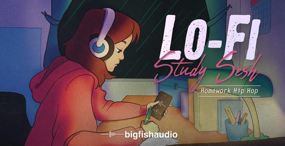 Lo-Fi Study Sesh Banner