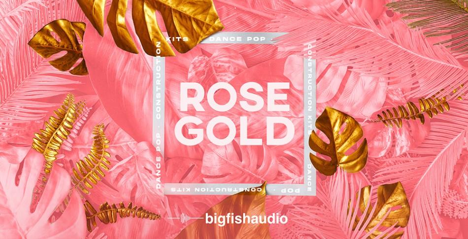 Rose Gold Banner
