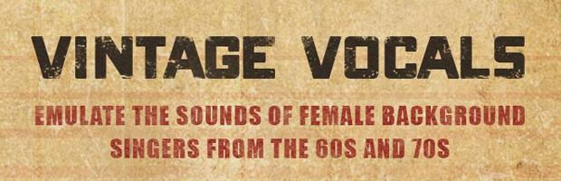 Vintage Vocals Header
