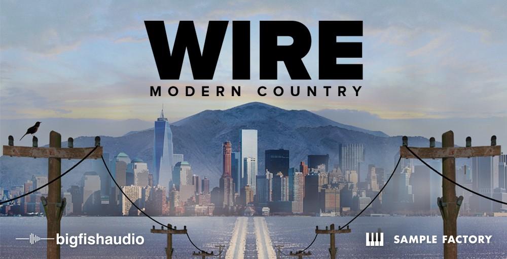 Wire Modern Country Header
