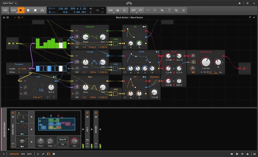 Bitwig 3 GUI