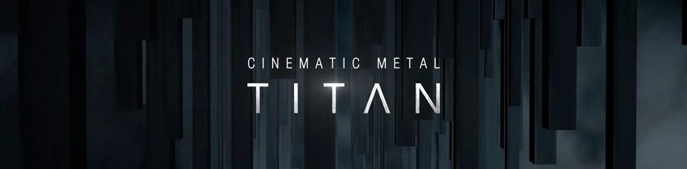 Cinematic Metal Titan  Designed Header