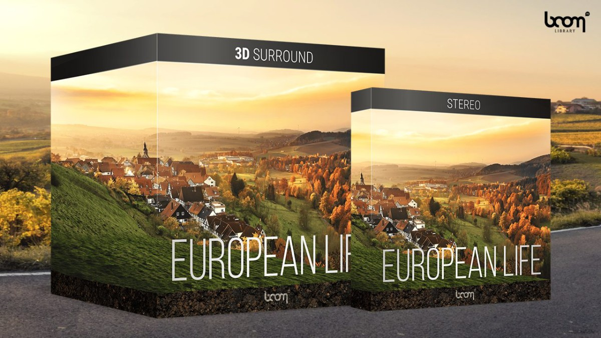 European Life 3D Surround Banner