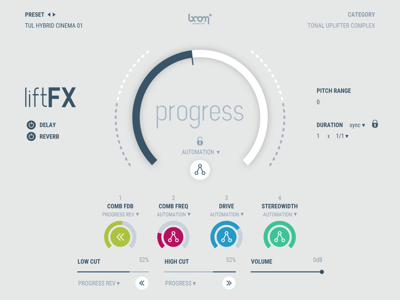 liftFX Interface