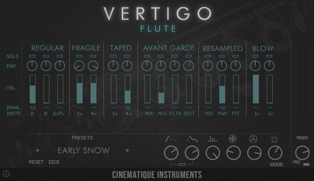 Vertigo Flute GUI