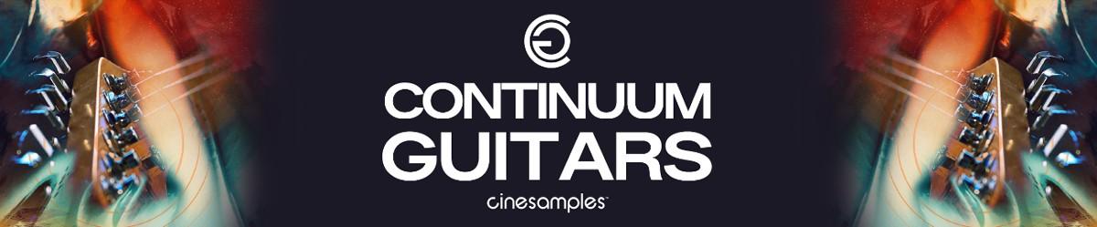 Continumm Guitars Header