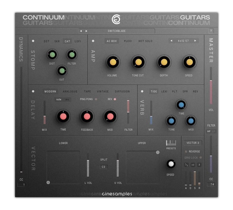 Continuum Guitars GUI